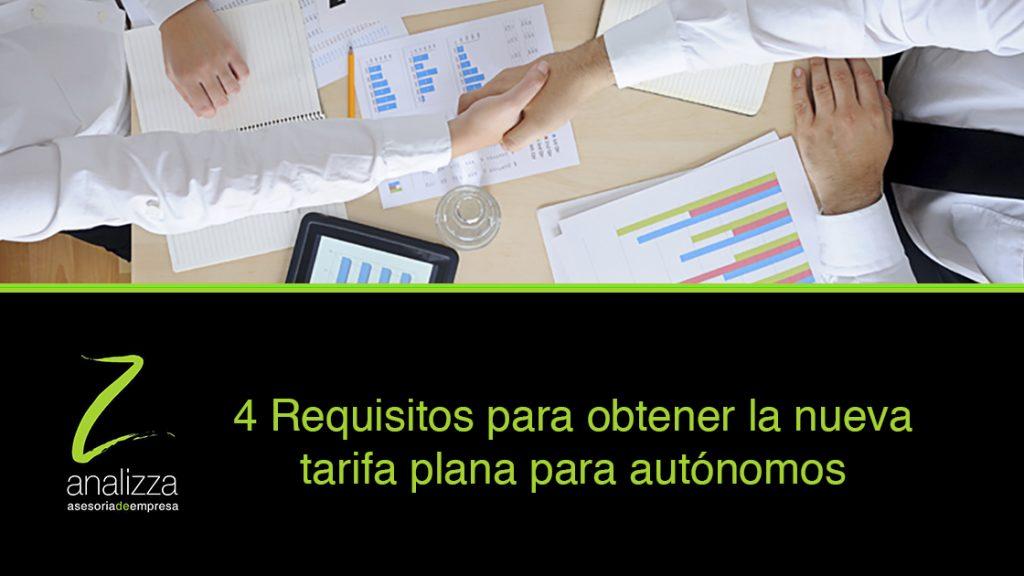 Cabecera requisitos tarifa plana autonomos