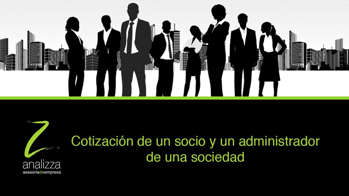 Cabecera cotizacion Socio y administrador