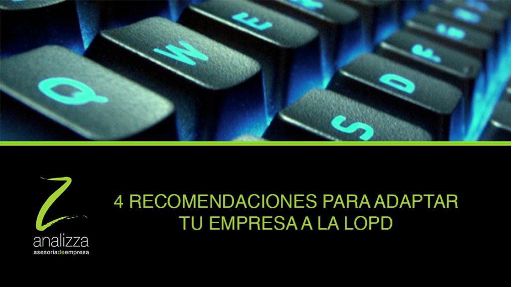 cabecera recomendaciones LOPD