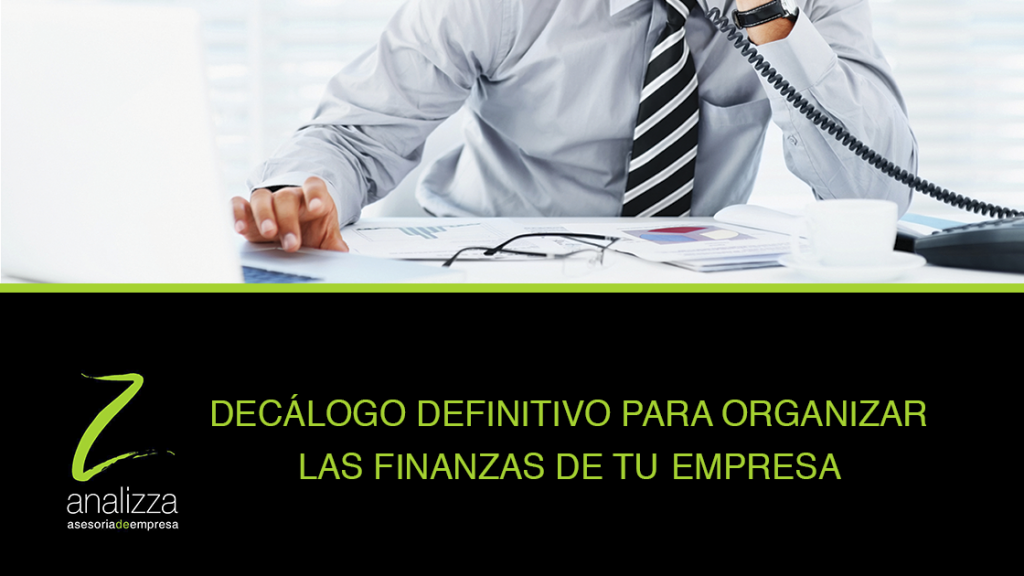 cabecera organizar las finanzas de tu empresa