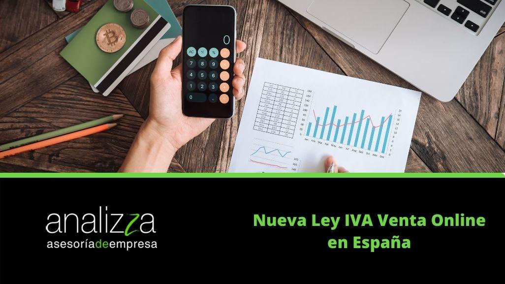 Nueva Ley IVA Venta Online en España Portada