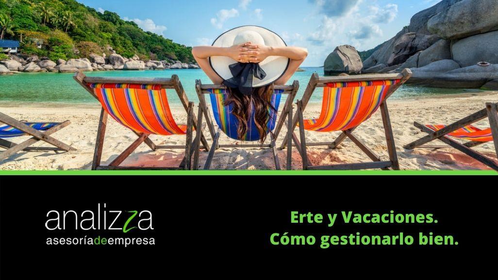 Erte y vacaciones portada